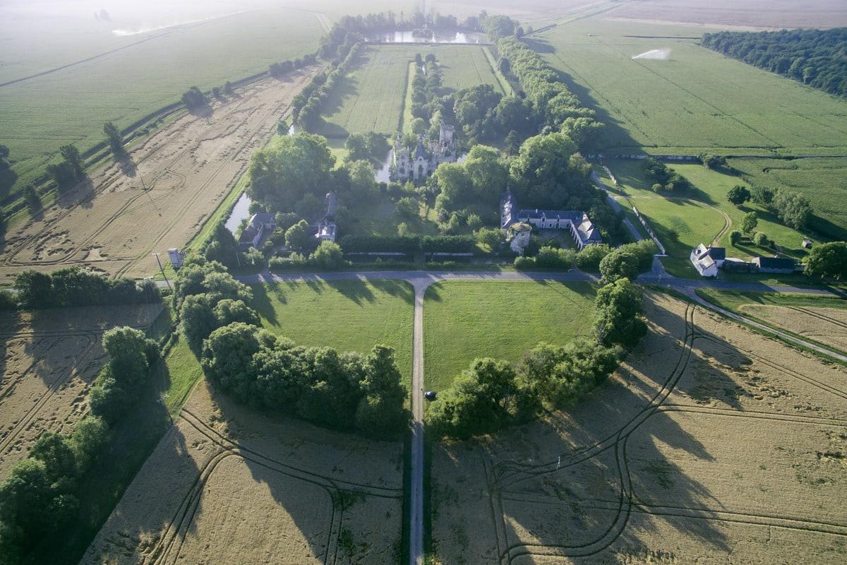 château de la Mothe Chandeniers végétation