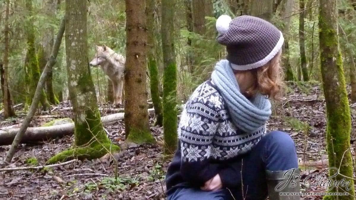 vika et le loup
