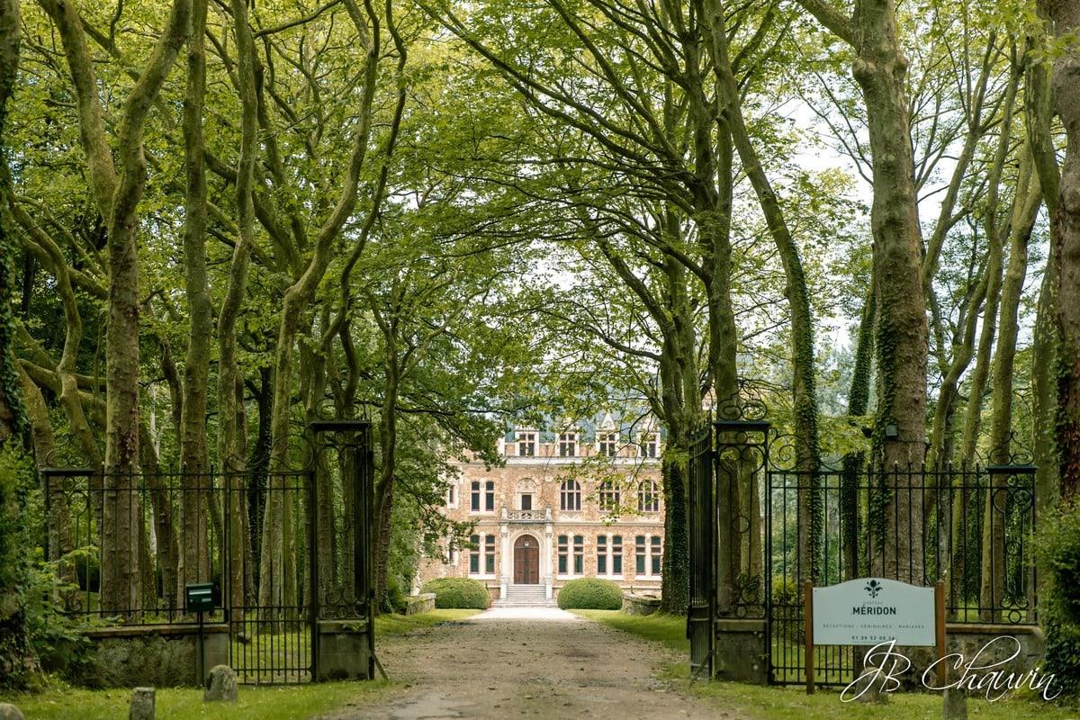 photographe chateau de méridon