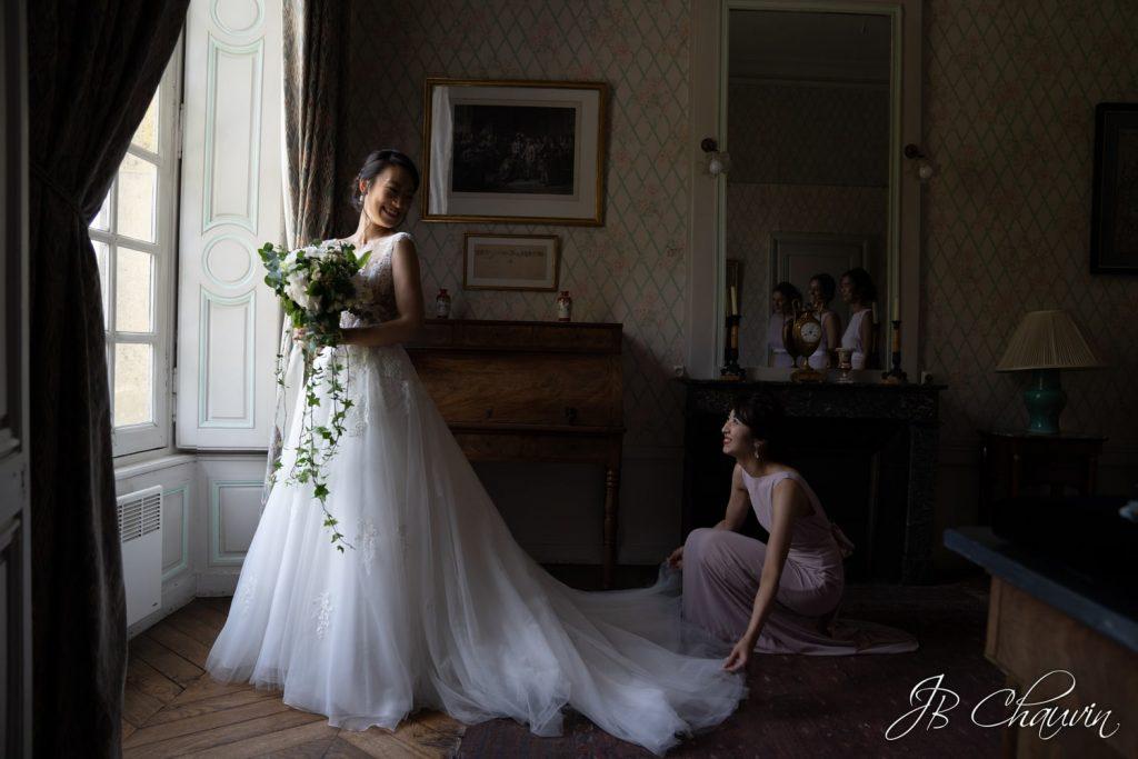 formation photographe mariage, retouche photo