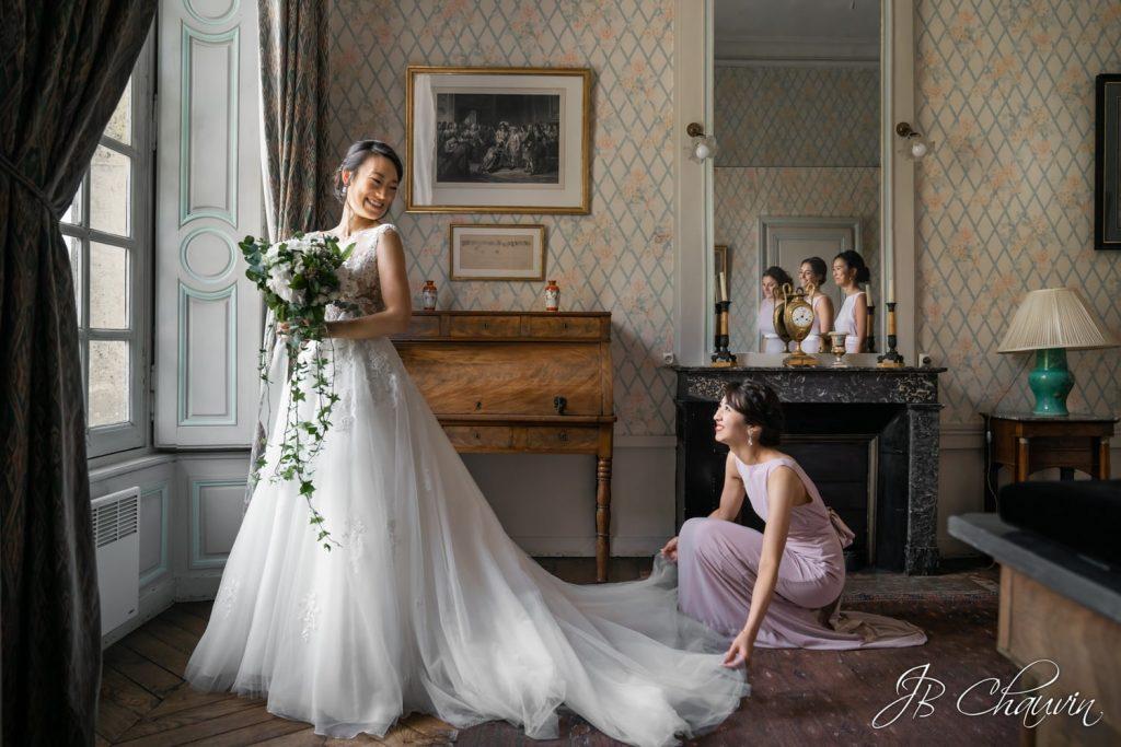 formation photographe mariage, retouche photo Lightroom