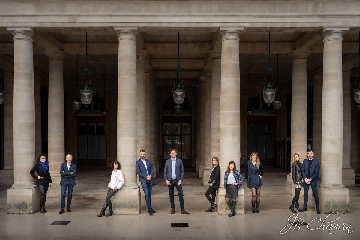 corporate portrait photographer paris